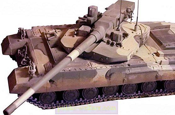 Characteristics of the Object 195. Promising Russian tank of the fourth generation