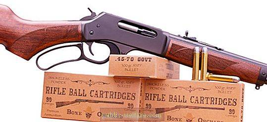 Caliber .45-70: review, application and photo of the cartridge