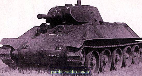 Tank A-32: on the history of creation and tactical and technical characteristics