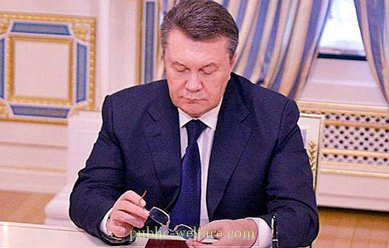 Yanukovych Biography - The Way to the President's Chair