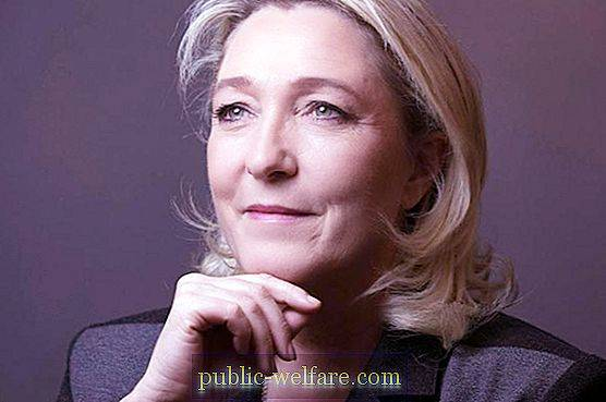 Marine Le Pen: biography and photo