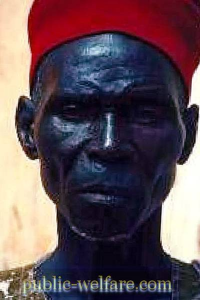 The most black man in the world