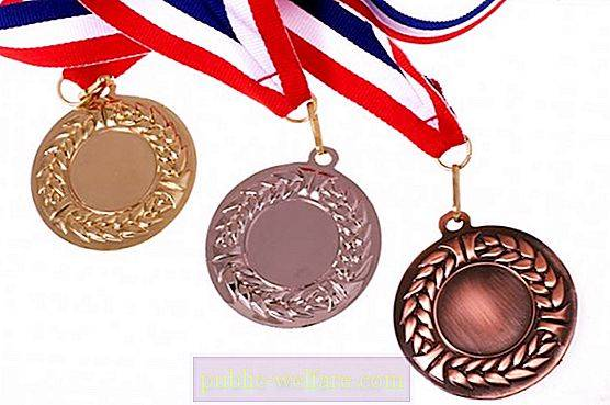 Olympic medals - the crown of the career of any athlete