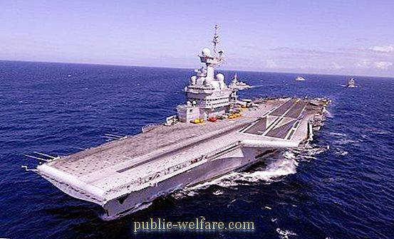 French Navy: submarines and modern warships