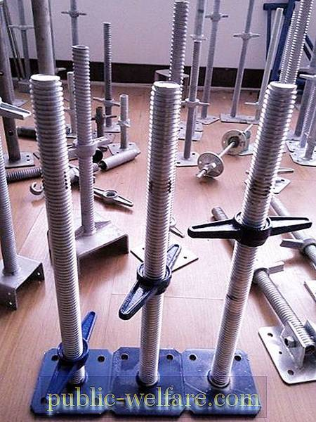 Coupling screw for formwork: description and photo