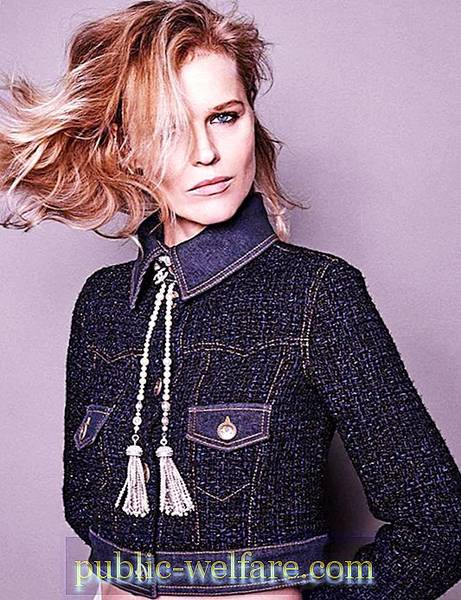 Czech Beauty Eva Herzigova At 45 The Life Of The Model Is Not Over Celebrities 2020