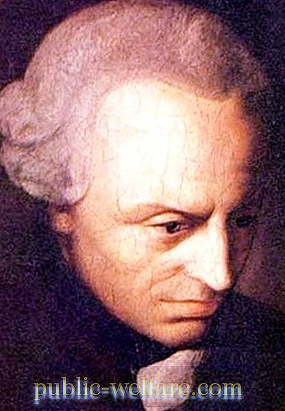 Kant: evidence of the existence of God, criticism and denial, moral law