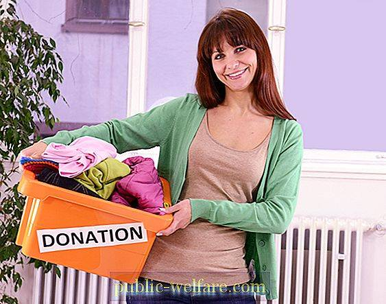 Where to give unwanted clothes? Good deeds
