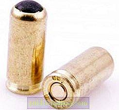 The strengthened cartridge of traumatic 9 mm